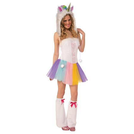 Unicorn Hat Spirit Hood Adult Costume Accessory - Unicorn Rider Costume