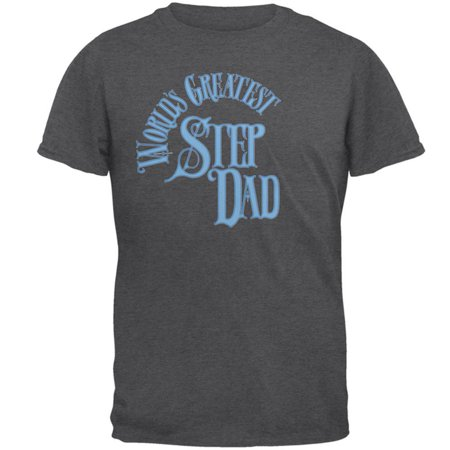 World's Greatest Step Dad Mens T Shirt