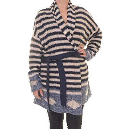 Indigo Striped Jeans - Lauren Ralph Lauren Tan Navy Striped Long Cardigan XL