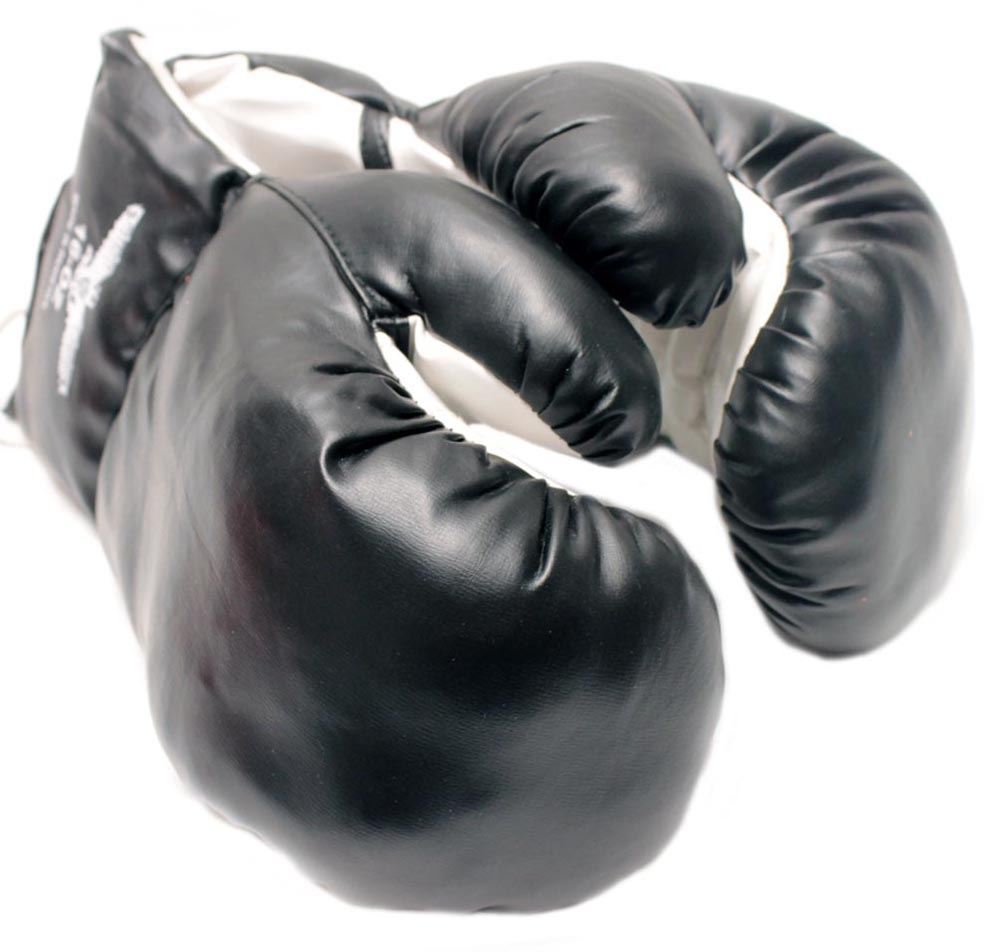 1 Pair of New Boxing   Punching Gloves and Fitness Training : Black 16oz by