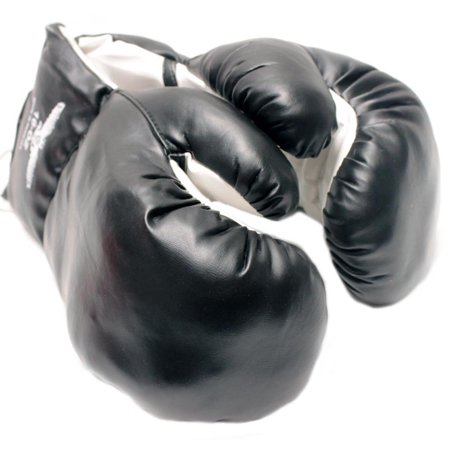 1 Pair of New Boxing / Punching Gloves and Fitness Training : Black - 12oz - Toddler Boxing Gloves