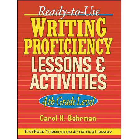 Ready-To-Use Writing Proficiency Lessons and Activities : 4th Grade Level - Halloween Writing Activities 2nd Grade