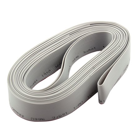 14 1Ft Length 1 27Mm Pitch 10 Pin Idc Flat Ribbon Cable For Isp Jtag Arm
