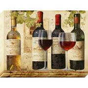 Nielsen Bainbridge Pinnacle Pinnacle Wine Tasting Graphic Art on Canvas