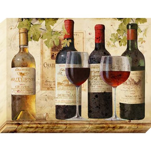 Nielsen Bainbridge Pinnacle Pinnacle Wine Tasting Graphic Art on Canvas