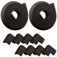 2-pack Baby Safety Table desk Edge Corner Cushion Guard Strip Softener Bumper Protector