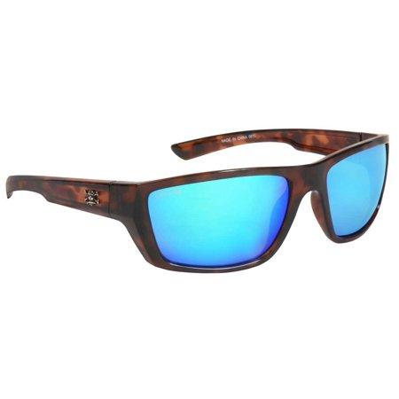 Calcutta SW1GMTORT Shock Wave Sunglasses Tortoise Frame Green Mirror (Shock Sunglasses)