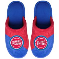 Detroit Pistons Big Logo Scuff Slippers