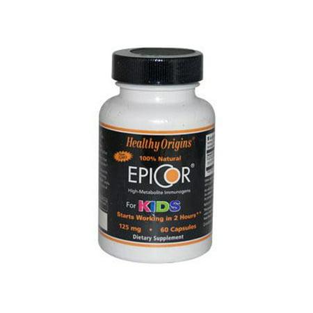 Healthy Origins Epicor For Kids   125 Mg   60 Capsules