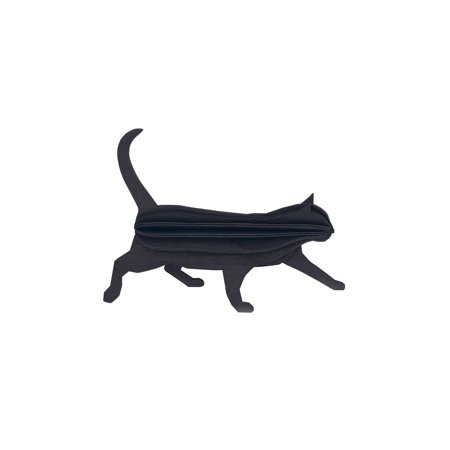 Halloween Games Cat Bowling (What On Earth Black Wood Cat Puzzle - 3D Sculpture Halloween Party)