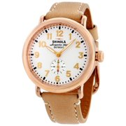 Shinola The Runwell White Dial Rose Gold PVD Ladies Watch 11000018
