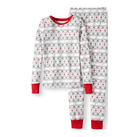 Family PJs Family Sleep Fairisle Cotton Tight Fit Pajamas, 2-piece Set (Little Boys & Big Boys) - Matching Pajamas For The Family
