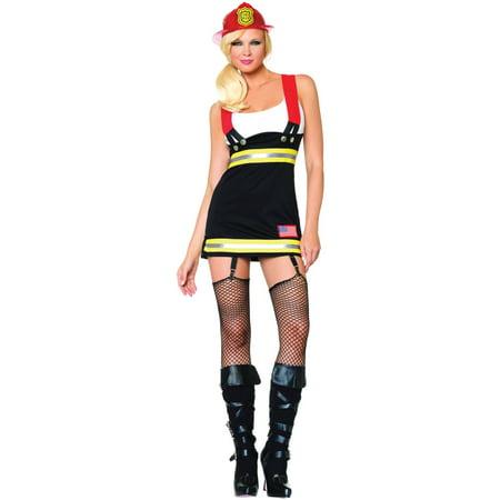 Leg Avenue Women's Sexy Firefighter Costume