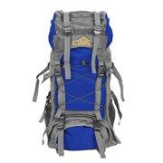 LYUMO Free Knight SA008 60L Outdoor Waterproof Hiking Camping Backpack Blue