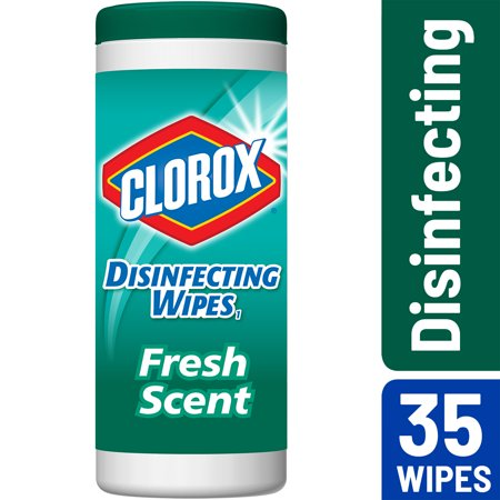 Clorox Disinfecting Wipes Bleach Free Cleaning Fresh Scent 35 Ct