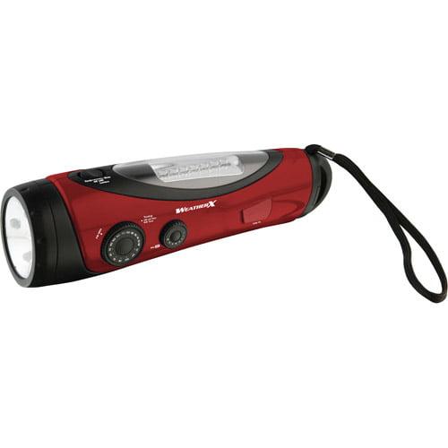 DPI Weatherband and AM/FM Radio Flashlight