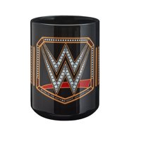 Official WWE Authentic  World Heavyweight Championship 15 oz. Mug Black