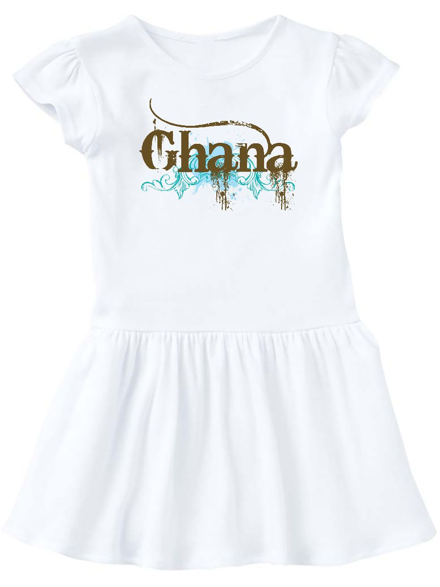 Ghana Country Grunge Shirts Infant Dress