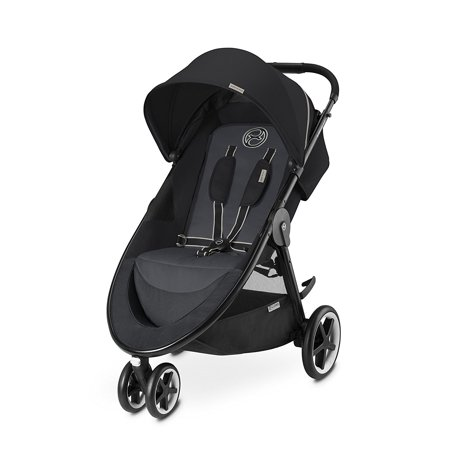 CYBEX Gold Agis M-Air Series Lightweight Baby Stroller with Never-flat Rubber Wheels - Choose from 3 or 4 Wheel Design - Color Option Available-AGIS M-AIR3 (3 wheels) / Grape Juice