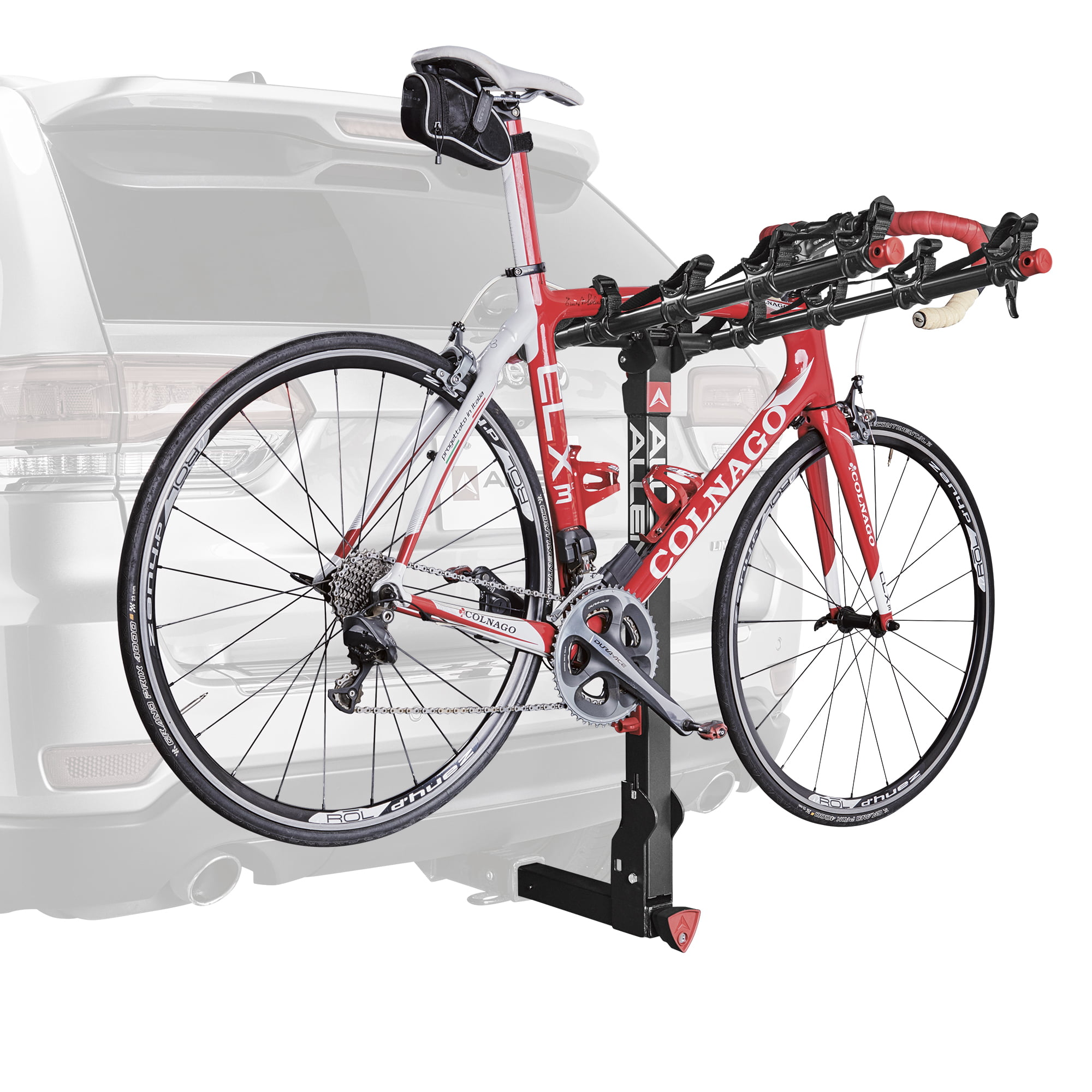 Rack Bike Hitch Mount Allen Sports 2 3 4 5 Key Locking Bicycle Trailer 2 Inch