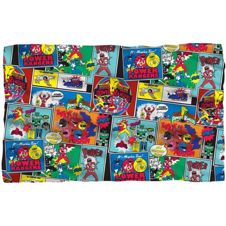 Power Rangers Fleece Blanket (Power Rangers Blankets)