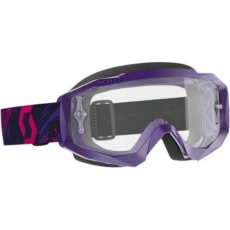 Scott - 268183-2880113 - Hustle Goggle X Purple/Pink with Clear Works