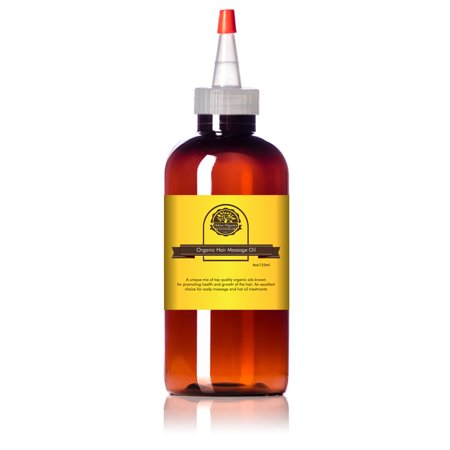 Organic Hair Growth Oil by Oslove Organics -Blend of virgin organic oils for fast hair