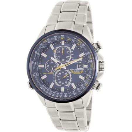 Citizen Men's Eco-Drive Blue Angels Chronograph Atomic Watch, AT8020-54L Citizen Eco Drive Chronograph Watch