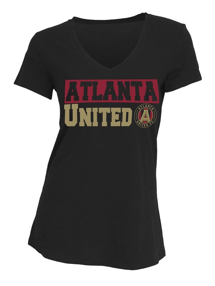 Atlanta United FC Tee Shirt Short Sleeve Pajama Top by Concepts Sport
