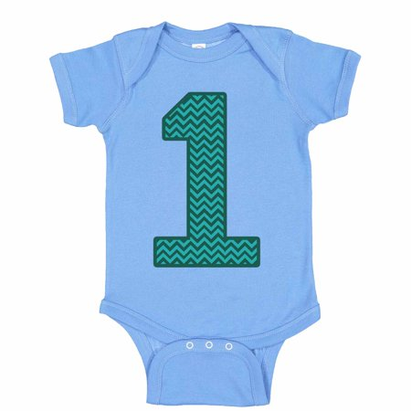 "Kids Cute Baseball Onesie ""1"