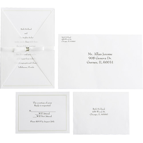 Wilton Wedding Princess Invitations 25 count Walmartcom