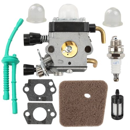 HIPA Carburetor with Air Filter Fuel Line Kit for Stihl Carburetor FS38 FS45 FS46 FS55 FS74 FS75 FS76 FS80 KM85 trimmers and cutters