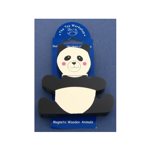 Magnetic Wooden Panda Magnet by The Toy Workshop