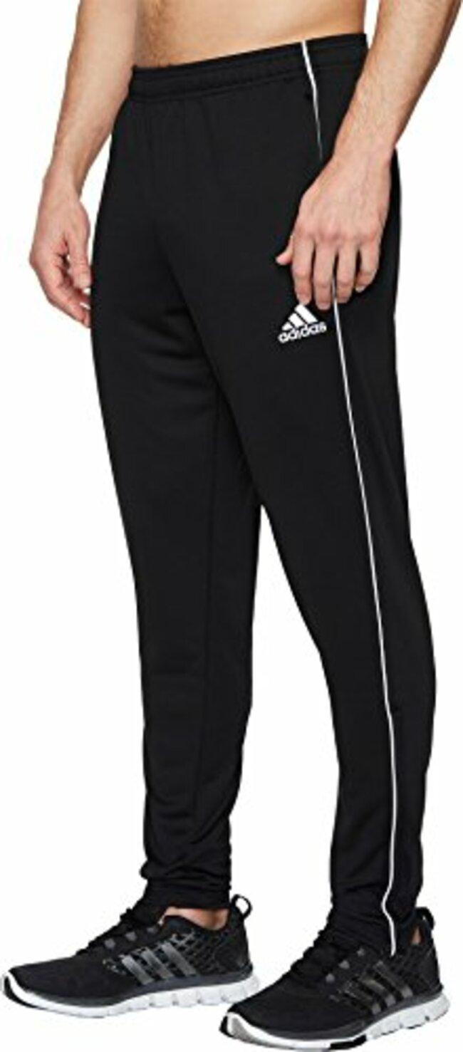 c3cc0b647 Adidas Men's Soccer Core 18 Training Pants Black/White X-Large - Walmart.com