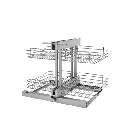 Rev A Shelf 5psp 15 Cr Inch Chrome, Kitchen Cabinets Organizers For Blind Corner