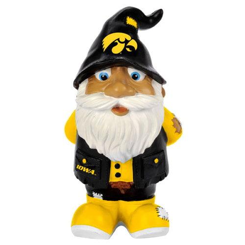 "Iowa Hawkeyes Garden Gnome - 8"" Stumpy"