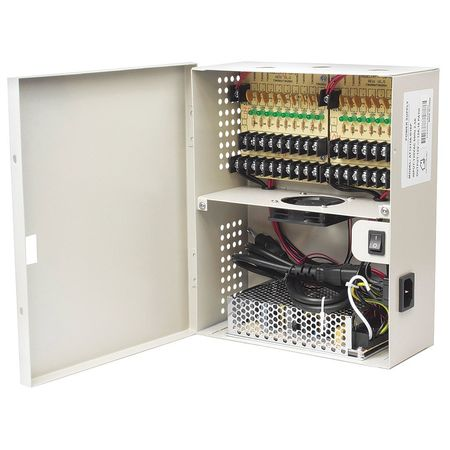 LTS DV-AT1212A-D18P Power Supply,Wall Mount,18 Channel,8inW G0122291