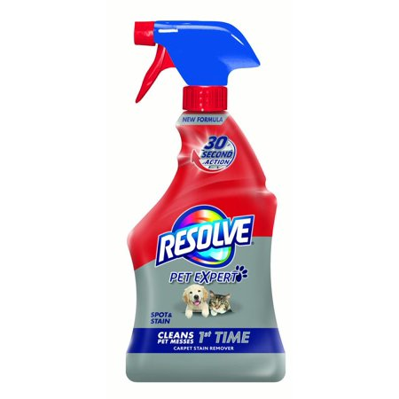 Orange Cat Odor Remover (Resolve Pet Stain & Odor Carpet Cleaner, 22oz Bottle)