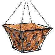 Panacea 88961TV 14 in. Square Regency Style Hanging Basket