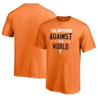 Tennessee Volunteers Fanatics Branded Youth Against The World T-Shirt - Tennessee Orange