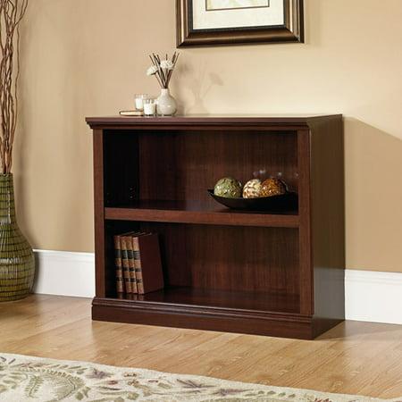 (Set of 2) Sauder Select 2 Shelf Bookcase, Select Cherry Finish (Bookcase Medium Cherry)
