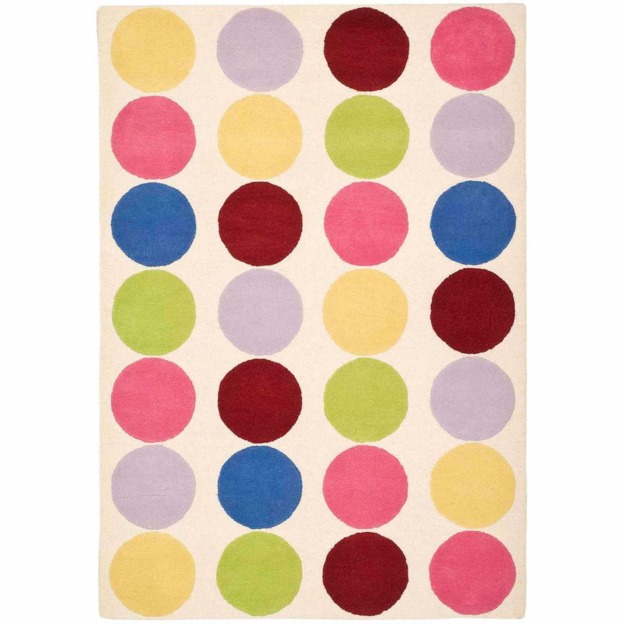 Safavieh Kids Webster Hand-Tufted Area Rug, Ivory/Multi