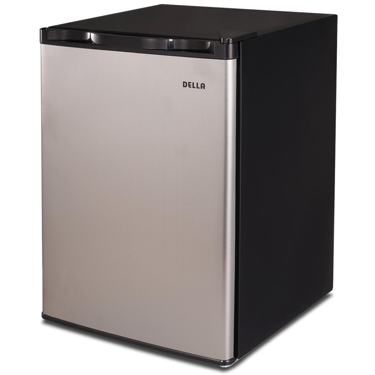 Della Mini Refrigerator Freezer Dorm Fridge 2.6 cu ft Office Compact Room Beer