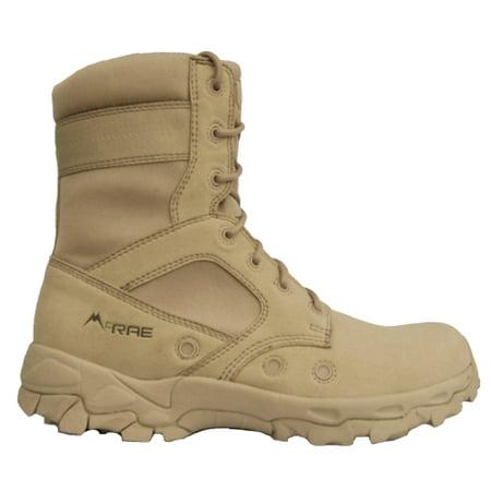 McRae Men's Tactical Hot Weather Tactical Boot Tan Tufftek