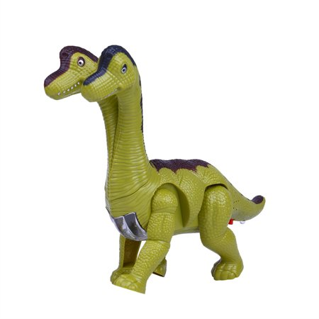 【YIWULA】Kids Toy Walking Dinosaur Toy Figure With Lights & Sounds Real Movement