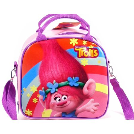 Party Favors Dreamworks Trolls Poppy Lunch Bag Plus Water Bottle- - Party City Plus