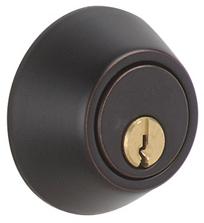 Schlage JD62V716 Aged Bronze Double Cylinder Deadbolt