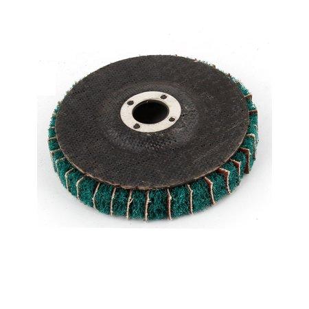 "4"" Outside Diameter Nylon Flap Polishing Grind Wheel Green - image 1 of 2"