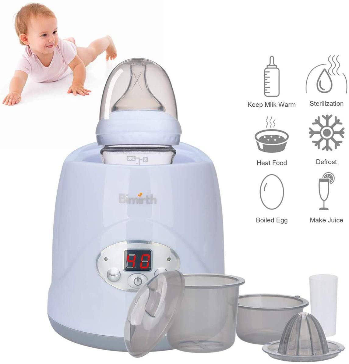 Baby Bottle Warmer Electric Steam Sterilizer, 6-in-1 Baby ...