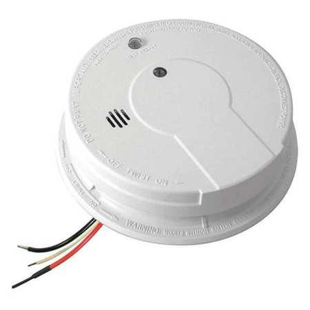KIDDE DIRECT WIRE IONIZATION SMOKE DETECTOR, AC/DC ()